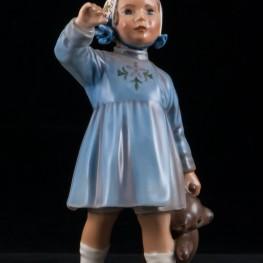 Девочка с плюшевым мишкой, Dahl Jensen, Дания