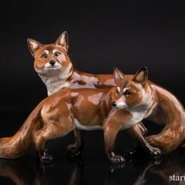 Две лисы, Hutschenreuther, Германия