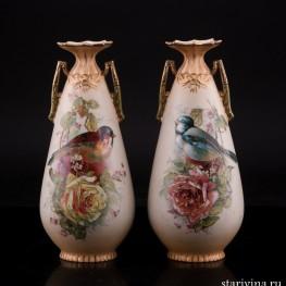 Две вазы, Австрия, пер. пол. 20 в