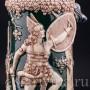 Пивная кружка Зигфрид и дракон, 3 л, Германия, нач. 20 в.