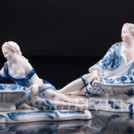 Пара с вазами, Meissen, Германия, 19 в