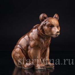 Медведь, Hutschenreuther, Германия, пер. пол. 20 в