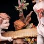Фигурка из фарфора Дети на качелях, Capodimonte, Италия, вт. пол. 20 в.