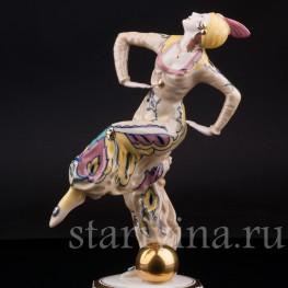 Танцовщица с шаром, Hutschenreuther, Германия, 1926-30 гг.