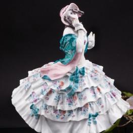 Фарфоровая статуэтка Эстрелла из балета Карнавал, Meissen, Германия, 1926-48 гг.