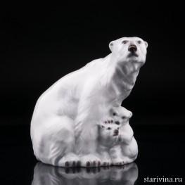 Медведица с медвежатами, Дания,